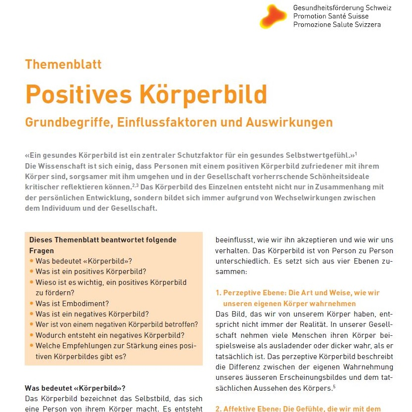 Nett Körperbild Zeitgenössisch - Anatomie Ideen - finotti.info